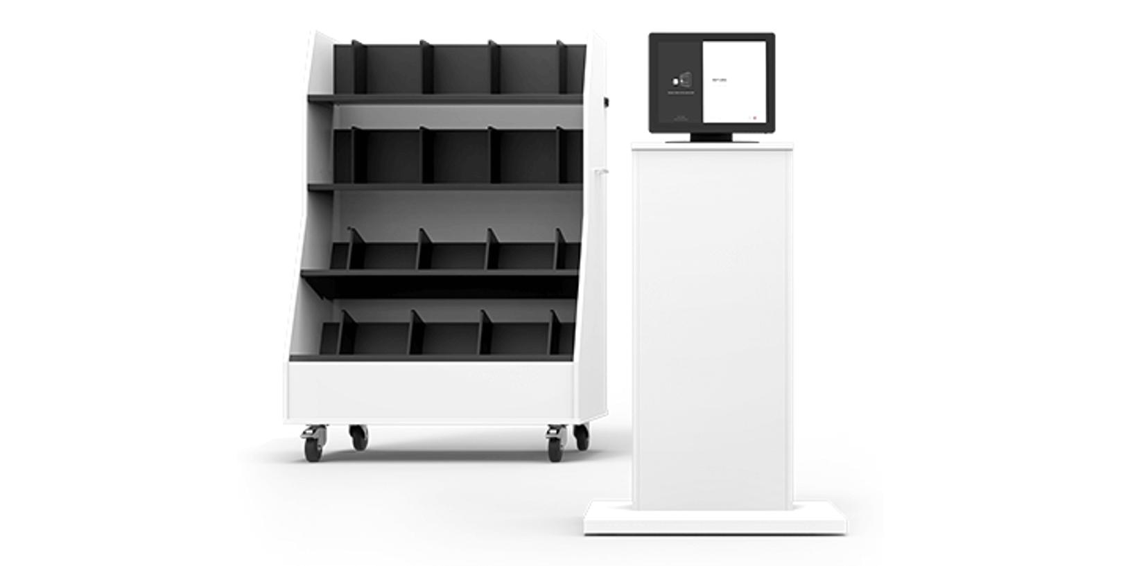 RFID Intelligent Returning Shelf